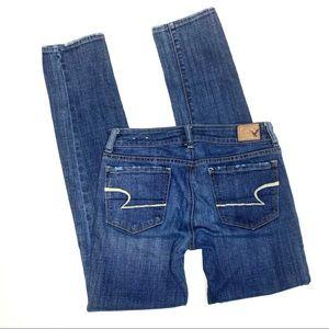 American Eagle AE jeans skinny sz 2 reg